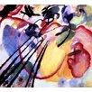 Magnolia Box Leinwandbild Improvisation No. 26, 1912, Bilddruck von Wassily Kandinsky