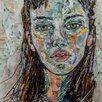 Magnolia Box Gerahmter Kunstdruck Lizzy, 2009 von Julie Kuyath
