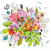 Magnolia Box Gerahmter Kunstdruck Bloom, 2014 von Jo Chambers