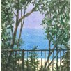 Magnolia Box Balcony View, 2015 by Lincoln Seligman Art Print on Canvas