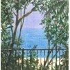 Magnolia Box Balcony View, 2015 by Lincoln Seligman Art Print