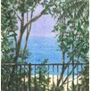 "Magnolia Box Leinwandbild ""Balcony View, 2015"" von Lincoln Seligman, Kunstdruck"