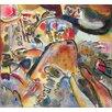 """Magnolia Box Leinwandbild """"Small Pleasures, 1913"""" von Wassily Kandinsky, Kunstdruck"""
