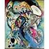 Magnolia Box Gerahmter Kunstdruck Composition No.218, 1919 von Wassily Kandinsky