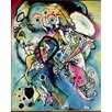 Magnolia Box Poster Composition No.218, 1919, Kunstdruck von Wassily Kandinsky
