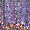 Magnolia Box Purple Forest 1, 2012 by David Newton Graphic Art on Canvas