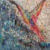 Magnolia Box Bird Call, 2010 by Julie Kuyath Art Print on Canvas