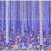 Magnolia Box Blue Orange Forest, 2015 by David Newton Art Print