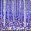 Magnolia Box Poster Blue Orange Forest, 2015 Kunstdruck von David Newton