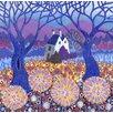 Magnolia Box Leinwandbild Fatherless Barn, 2012, Kunstdruck von David Newton