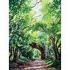 Magnolia Box Sudbury Bridge and Trees by Christopher Ryland Art Print