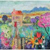 Magnolia Box Leinwandbild Place in the Country, 2014 Kunstdruck von Sylvia Paul