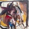 Magnolia Box Gerahmter Kunstdruck Equus, 2014, Oil on Linen von Crystal Fischetti