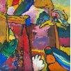 Magnolia Box Gerahmter Kunstdruck Study for Improvisation V, 1910