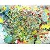 "Magnolia Box Leinwandbild ""Apple Tree, 2009"" von Myrtia Hellner, Kunstdruck"
