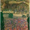 Magnolia Box Country House by the Attersee, c.1914 by Gustav Klimt Art Print on Canvas