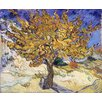 Magnolia Box Mulberry Tree, 1889 by Vincent van Gogh Art Print on Canvas