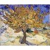 """Magnolia Box Gerahmtes Poster """"Der Maulbeerbaum, 1889"""" von Vincent van Gogh, Kunstdruck"""