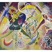 Magnolia Box Gerahmter Kunstdruck Improvisation 35, 1914 von Wassily Kandinsky