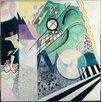 """Magnolia Box Gerahmtes Poster """"Green Composition, 1923"""" von Wassily Kandinsky, Kunstdruck"""