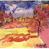 Magnolia Box Poster Walnut Tree, 1998, Kunstdruck von Robert Hobhouse