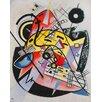 Magnolia Box Leinwandbild White Point von Wassily Kandinsky, Kunstdruck