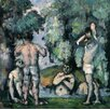 Magnolia Box The Five Bathers, C.1875-77 by Paul Cezanne Art Print
