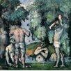 Magnolia Box Poster The Five Bathers, C.1875-77, Kunstdruck von Paul Cezanne