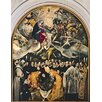 Magnolia Box The Burial of Count Orgaz, from A Legend of 1323, 1586-88 by El Greco Framed Art Print