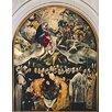 Magnolia Box Gerahmter Kunstdruck The Burial of Count Orgaz, from A Legend of 1323, 1586-88 von El Greco