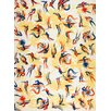 Magnolia Box Parrot Pattern Print Graphic Art