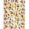 Magnolia Box Poster Papagei-Muster, Grafikdruck