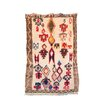 Indigo&Lavender Azilal Hand-Knotted Beige/Red Area Rug