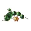 Frog Glass/Metal Tabletop Fountain - Continental Art Center Indoor and Outdoor Fountains