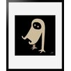 Atelier Contemporain Ghost by Aksel Framed Graphic Art