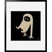"""Atelier Contemporain Gerahmtes Poster """"Ghost"""" von Aksel, Grafikdruck"""