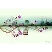 "Atelier Contemporain Leinwandbild ""Melusine"" von Iris, Grafikdruck"