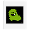 Atelier Contemporain Monster by Aksel Framed Graphic Art