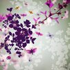 """Atelier Contemporain Leinwandbild """"Butterfly von Cacha"""" von Iris, Grafikdruck"""