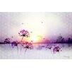"Atelier Contemporain Leinwandbild ""Sunset"" von Iris, Grafikdruck"