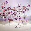 """Atelier Contemporain Leinwandbild """"Kyoto"""" von Chacha von Iris, Grafikdruck"""