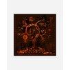 """Atelier Contemporain Leinwandbild """"Arbre De Vie"""" von Ds Kamala, Grafikdruck"""