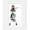 Atelier Contemporain Urban Girl 10 by Sophie Griotto Framed Graphic Art