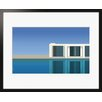 Atelier Contemporain The Pool by Clément Dezelus Framed Graphic Art
