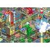 Atelier Contemporain Leinwandbild Eboy Berlin, Grafikdruck von Eboy