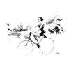 """Atelier Contemporain Leinwandbild """"Quai De Seine"""" von Hossein, Grafikdruck"""