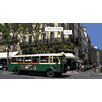 Atelier Contemporain Bus Flore by Philippe Matine Graphic Art Wrapped on Canvas