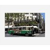 Atelier Contemporain Bus Flore by Philippe Matine Framed Graphic Art