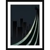 Atelier Contemporain Dark Shadow 02 by Léon Framed Graphic Art