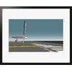 Atelier Contemporain Gas Station by Clément Dezelus Framed Graphic Art